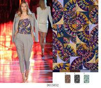 african print stretch fabric