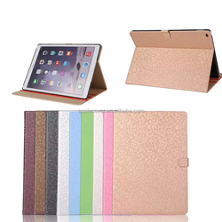 Luruxy Diamond Texture Flip Leather Case for ipad pro with wake up /sleeping function , for ipad pro covers