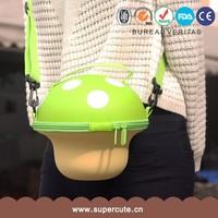 Unique design EVA Green color mushroom shape fashion elegance ladies handbag