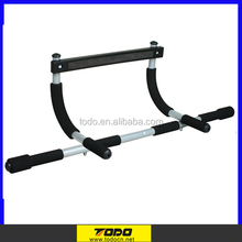 Indoor Double Tiered Portable chin up bar Folding Pull Up Bar