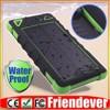 8000mah waterproof solar power bank
