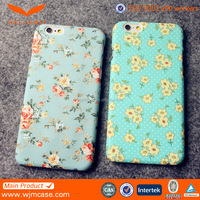 2016 Newest Flower For Iphone 6 Waterproof 3D Sublimation Funky 5 inch Mobile Phone Case