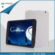 7.85 Inch 1024x768 Pixels Firmware Android PC Tablet Allwinner A23 Dual Core CPU Tablet PC For Russia With Wifi