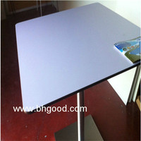 hpl compact laminate table tops/chair tops for restaurant/canteen