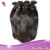 top quality factory price unprocess 6A grade straight human hair