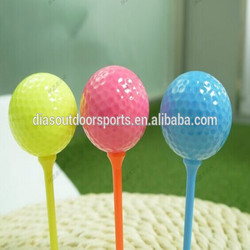cheap colored practice golf balls in good quality