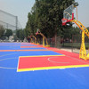 Basketball Sport PP Sports Flooring ,Interlocking Tiles