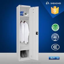 Henan shengwei colourful fingerprint locker lock with drawer cabinet
