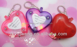 Valentine's day decoration Love heart shape Colorful led pet light