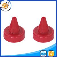 plastic screw bottle lid push pull closure cap