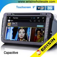 """Erisin ES9401A 8"""" HD Special Car GPS DVD WiFi 3G OPS PASSAT Golf 6 2009"""