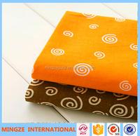 Newest 100% cotton custom printing fabric