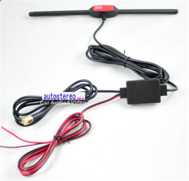 Digital Tv Signal Amplifier Booster : Auto digital tv tuner receiver antenna aerial amplifier