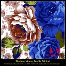 100 percent polyester pigment custom printing poly sheeting microfiber peach skin 90inch width fabric