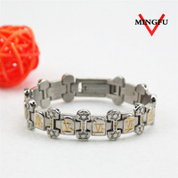 Mingfu new design engraved indian silver jewelry