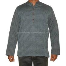 Latest Kurta Designs For Men Cotton Plain Kurta Men's Short Kurta