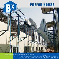 Environmental Design Light Steel Frame cheap prefab houses