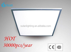 Diverse watts size available high flux 9mm thickness 600x600 2x2 led panel light 48w