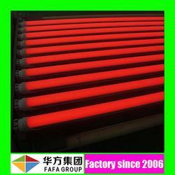 120cm 18w 12.m t8 sex RED Tube milk white 18w t8 led red tube xxx tube8