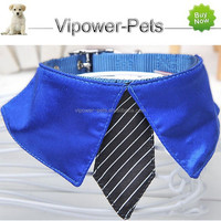 Wholesale Nylon Dog Collar Fashion Luxury Pet Collar Adjustable Necktie Collar Free Shipping