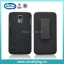 China wholesale supplier black belt holster case for Samsung Galaxy s5
