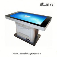 interactive mutil touch screen office furniture wiring system