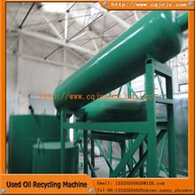 JNC series waste motor/sump/truck/car/marine/ship/sludge oil re-refining plant with CE
