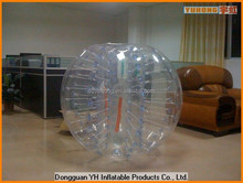 1.2m PVC inflatable bumper zorbing ball for kids