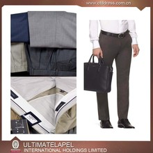 100%wool solid color custom tailored business pant