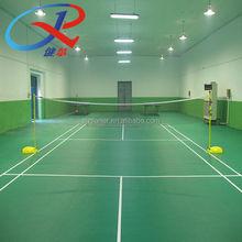 ecomomic indoor badminton 4.5 mm pvc