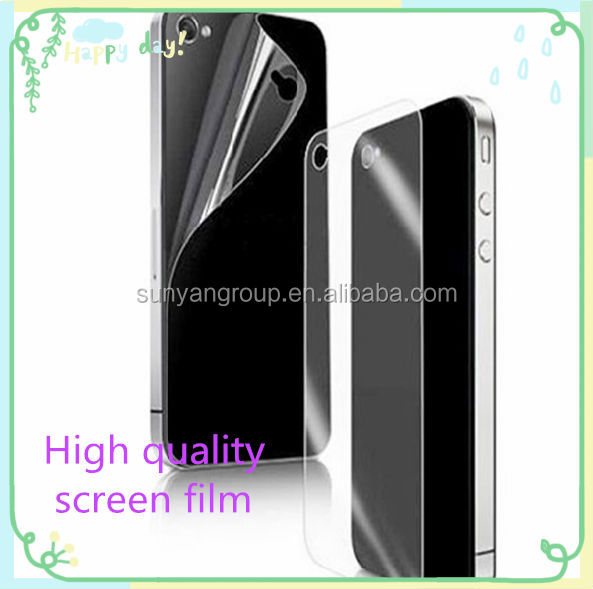 Screen protector with design,high flatness,high tensile strength