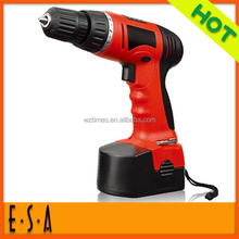 High power strong motor electric impact drills with low price,16 PC Rechargeable drill,Best cordless power drill motor T09B102