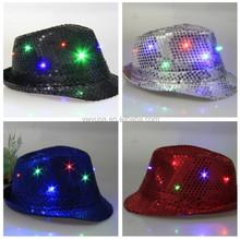 Fashion Led Jazz Hat Caps