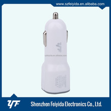 Top quality universal dual usb car charger Mobile phone adapter