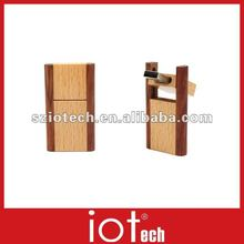 Rectangle Wooden Branded USB Cards 2GB