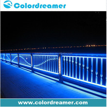 Colordreamer aluminium led linear dmx wall washer rgbw 30*1W SMD5050 1000mm outdoor wall light