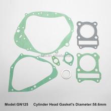 GN-125 motorcycle gasket set,full gasket kit