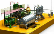 Pollution free continuous scrap tyre pyrolysis plant