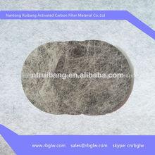 la fabricación de material de filtro de olor eliminación de olor a tabaco filtro