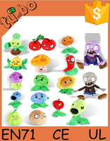 Hot Game plant vs zombie/plush toy plant vs zombie for gift