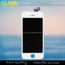 LCD Screen Touch Digitizer Display Repairs for iphone 5G,High quality touched lcd for iphone 5G