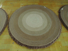 Round Rope Knitted carpet with popular