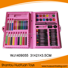Plastic kids creative pen stationery all kinds of colors