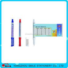 Metallic Luster promotional gift pen with logo