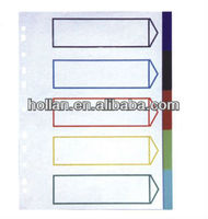 High Quality A4 Paper index divider