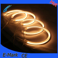 multi color universal ccfl angel eyes yellow halo rings for E36/E38/E39/E46 projector,led lamp light for BMW