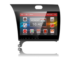 Android 4.4 car navigation system with Mirror link for KIA K3