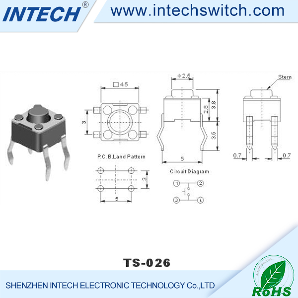 electronic components black copper pins micro tact switches small rh alibaba com