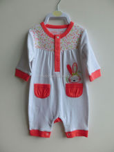 OEM Services 100% cotton comfortable newborn baby romper, baby clothes