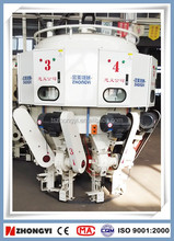Multinozzle full automatic cement plaster packing machine